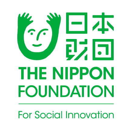 ロゴ:日本財団 THE NIPPON FOUNDATION For Social Innovation