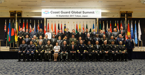 Group photo of participants at the 1st Coast Guard Global Summit