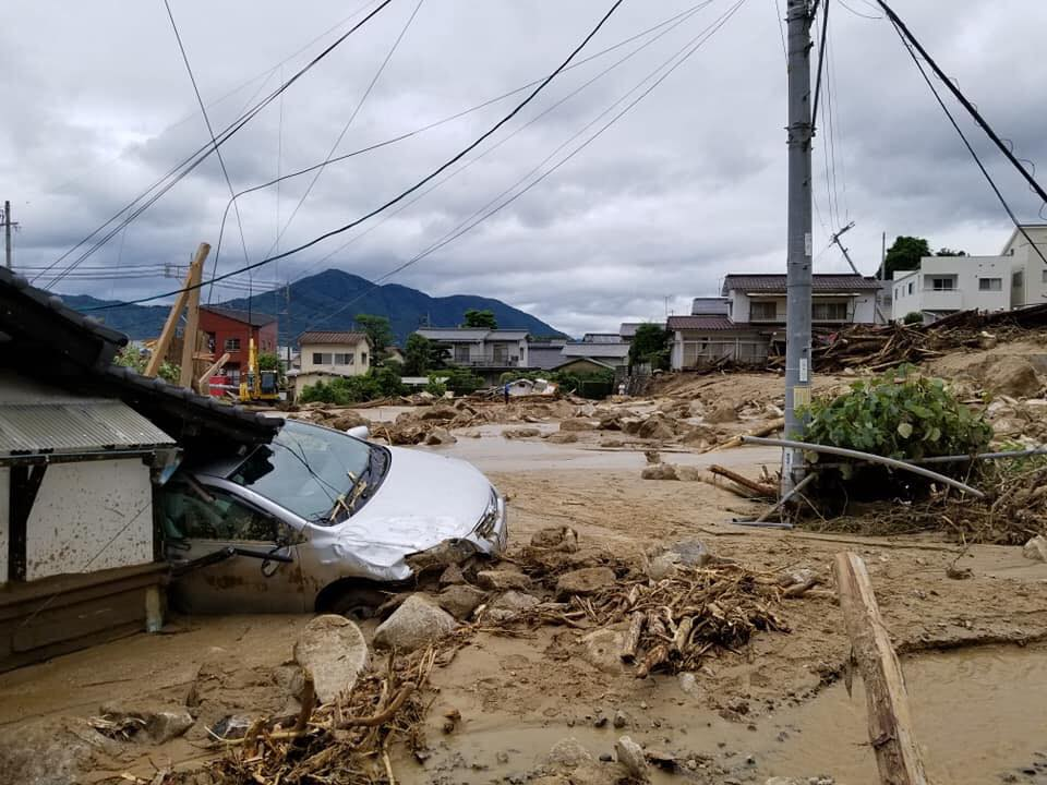 平成30年7月豪雨被災地支援 | 日本財団